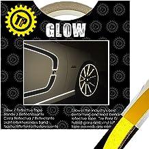 THE GLOW(ザ・グロウ) YELLOW 幅19.05mm×長さ9.1m 塗装を侵さないリフレクター リムテープ TIRE PENZ製