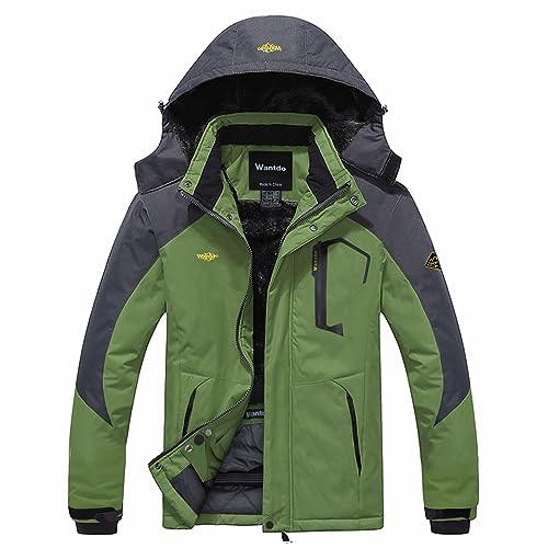 Wantdo Men s Mountain Waterproof Ski Jacket Windproof Rain Jacket 5cc690526