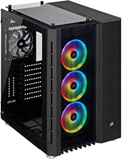 Corsair Crystal 680X RGB Tempered Glass -Black- キューブ型PCケース CS7554 CC-9011168-WW
