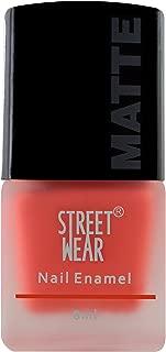 Street Wear Matte Nail Enamel, Fresh Orange, 8ml