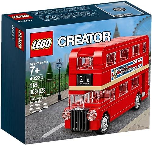 lowest LEGO Creator Double online sale Decker London Bus new arrival 40220 outlet sale
