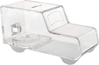 MCB - Ambulance/Truck Acrylic Box - Charity Box - Collection Box - Collection Box - Tip Container (Clear)