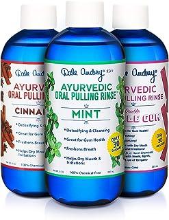 Dale Audrey | Oil Pulling Oil | Natural Mouthwash, 3 Pack Combo - Mint, Cinnamon, Bubble Gum | Natural & Organic Ingredien...