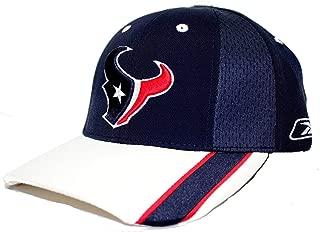 Reebok on Field NFL Houston Texans HAT Cap Adjustable Unisex Adult Team Color