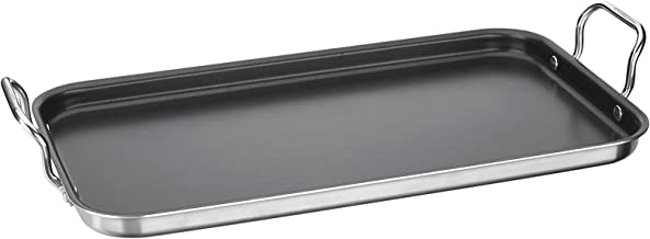 "Cuisinart MCP45-25NS Double Burner Griddle, 10"" x 18"", Stainless Steel"