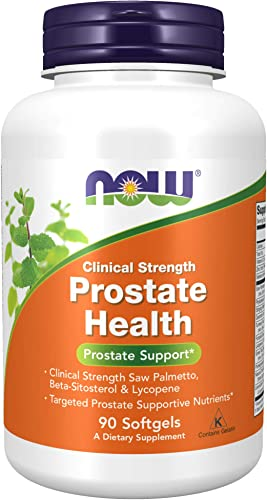 Now Foods Prostate Health Clinical Strength 90 Softgels