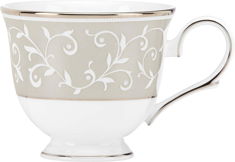 Lenox Opal Innocence Dune Tea Cup, blanc by Lenox