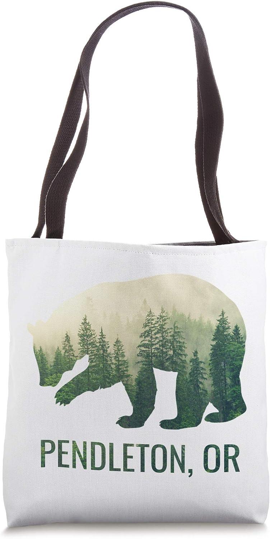 Pendleton Bear State Of Oregon Pacific NW Wildlife Tote Bag