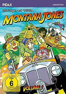 Montana Jones, Vol. 1 / Die ersten 26 Folgen der erfolgreichen Anime-Serie (Pidax Animation) [4 DVDs] [Alemania]