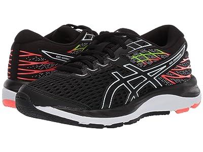 ASICS Kids Gel-Cumulus 21 (Big Kid) (Black/White) Boys Shoes