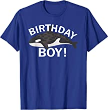 Birthday Boy Killer Whale Orca T-Shirt