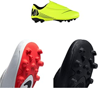 Official Brand Nike Mercurial Vapor Club Firm Ground Football Boots Juniors Soccer Cleats Shoes