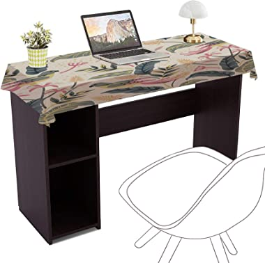 Aart Store Engineered Wood Study Table | Engineered Wood Laptop/Office Table with Storage Space for Home and Office