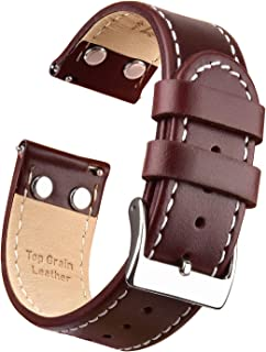 Best 18mm watch band leather Reviews