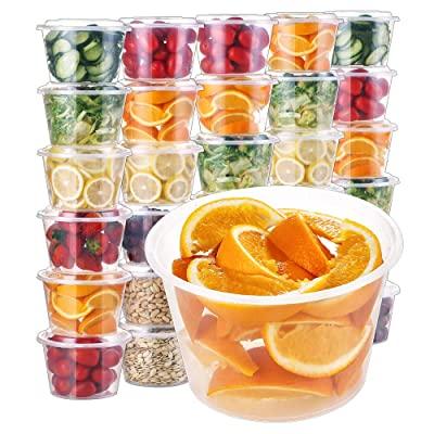 KEDSUM Food Storage Containers with Lids [30Pac...