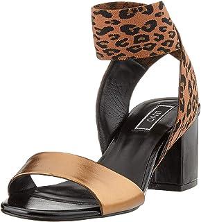 Liu Jo Thelma 05-Sandal Brass, Sandalias con Punta Abierta Mujer