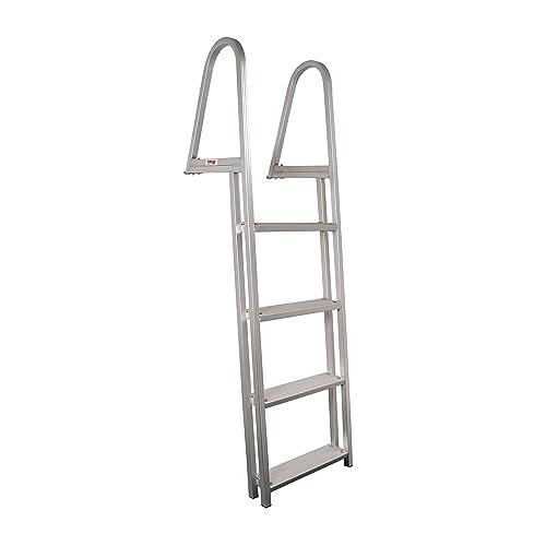 Boat Ladder4 Step Telescoping Pontoon Dock Ladder OEM Quality 316 Stainless