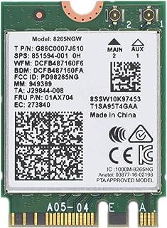 ثنائي النطاق اللاسلكي - بطاقة واي فاي AC 8265 8265AC NGFF معالج إنتل 8265 AC AC8265 8265NGW M.2 NGFF 2.4/5 جيجاهرتز بلوتوث...