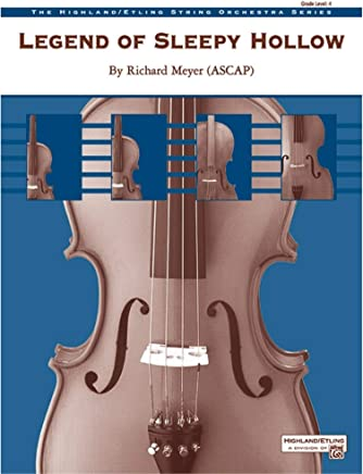 Alfred 00-31606 - Legenda di Sleepy Hollow - Music Book
