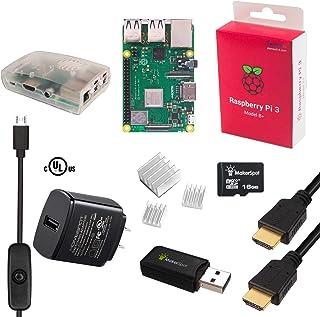 MakerSpot Raspberry Pi 3 Model B+ Plus Starter Kit KRB0143