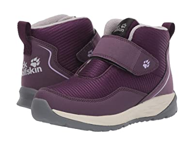 Jack Wolfskin Kids Polar Wolf Low VC (Toddler/Little Kid/Big Kid) (Purple/Off-White) Girls Shoes