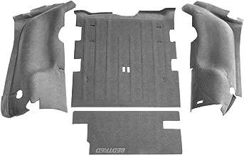 BedRug Jeep Kit - BedTred BTTJ97R fits 97-06 TJ 97-06 REAR 4PC CARGO KIT (INCLUDES TAILGATE)
