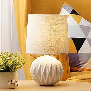 blue bedside table lamp