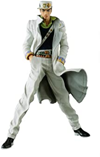 Banpresto Jojo's Bizarre Adventure Diamond is Unbreakable Jojo's Figure Gallery 7 x Diamond Records Jotaro Kujo Action Figure