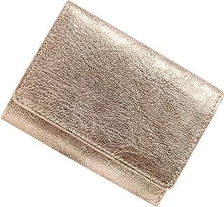 極小財布 ゴートスキン アンティークメタリック ベーシック型小銭入れ BECKER(ベッカー)日本製 ミニ財布/三つ折り