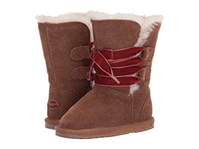 EMU Australia Kids Phoenix (Toddler/Little Kid/Big Kid) (Chestnut) Girls Shoes