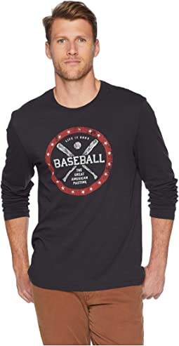 American Pastime Long Sleeve Smooth T-Shirt