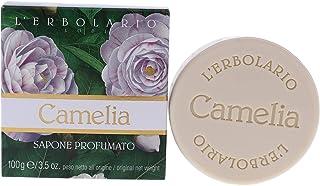 Sponsored Ad - LErbolario Loti LErbolario Bar Soap - Camelia - Floral, Powdery Scent - Cleanse, Soften & Tone Skin With Ca...