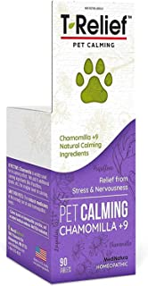 Sponsored Ad - MediNatura T-Relief Pet Calming with Chamomile + 9 Calming Actives - 90 Tablet