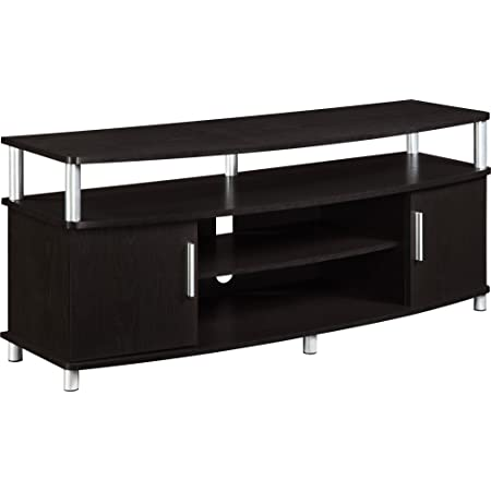 Ameriwood Home Carson Tv Stand For Tvs Up To 50 Espresso Furniture Decor