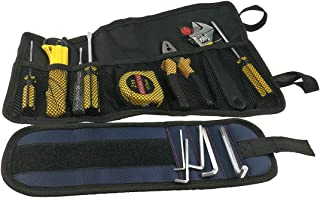 Plumber Electrician Car Maintenance Reel Roll Tool Bag And Magnetic Tools Receive Arm Band