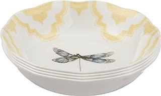 Lenox Butterfly Meadow Trellis Fruit Bowls (Set of 4), White