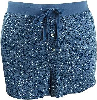 Alfani Women's Super Soft Printed Sleep Shorts