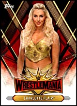 2019 Topps Road to WrestleMania Wrestlemania 35 Roster #WM-11 Charlotte Flair WWE Wrestling Trading Card