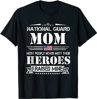 National Guard Mom I Raise Mine Shirts