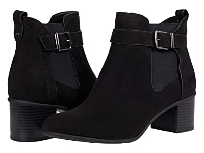 Kenneth Cole Reaction Corey 45 Bootie (Black Microsuede) Women