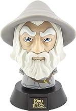 Paladone Lord of The Rings Gandalf 3D Icon BDP | Officieel gelicenseerde J. R. R. Tolkien's The Hobbit | Uniek cadeau-idee | Heldere nachtlamp of bureaulamp | Batterij aangedreven door 2 x AAA