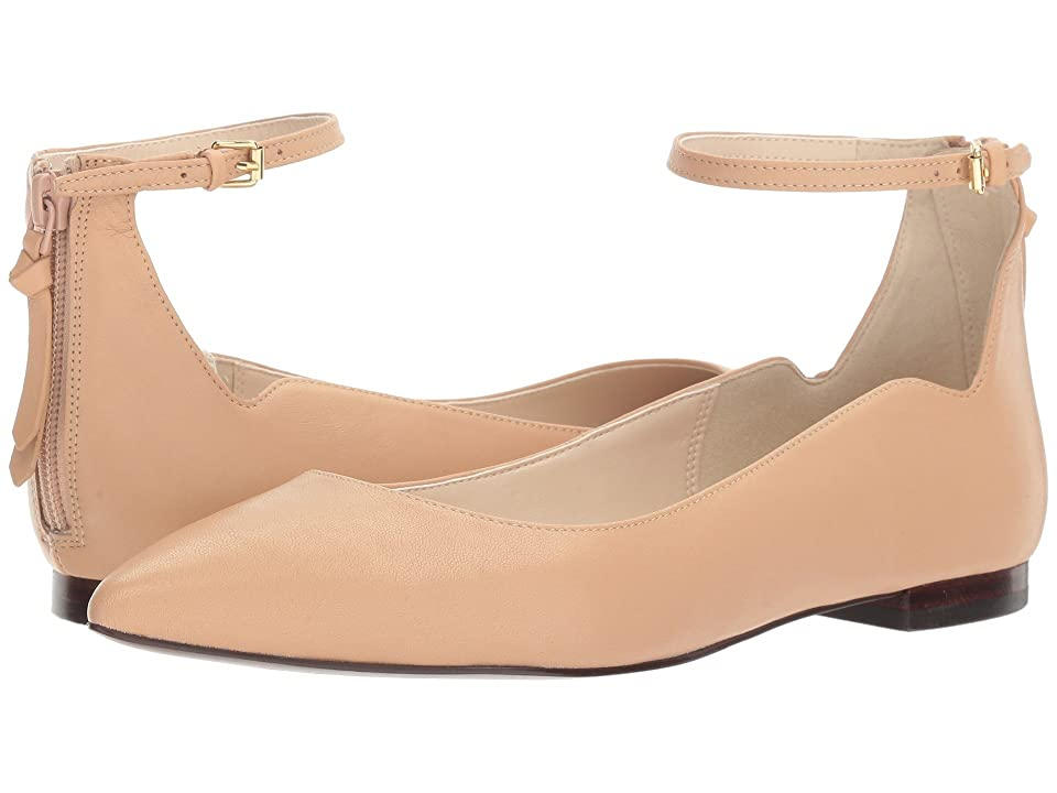 Cole Haan Millicent Skimmer (Nude Leather) Women