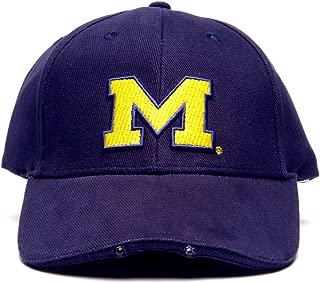 NCAA Michigan Wolverines Dual LED Headlight Adjustable Hat