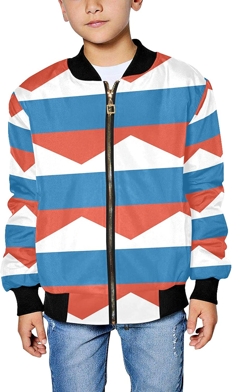 Russian Flag Be Beauty products super welcome Boy's Jacket Girl's Bomber