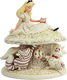 Enesco Disney Traditions by Jim Shore White Woodland Alice Wonderland Figurine