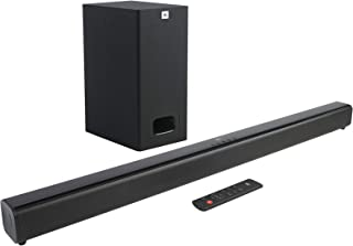 JBL Cinema SB231, 2.1 Channel Dolby Digital Soundbar with Wired Subwoofer for Deep Bass, Home Theatre with Remote, HDMI AR...