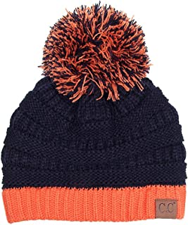 ScarvesMe CC Exclusive University College School Color Pom Pom Beanie