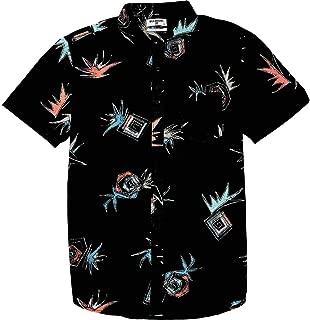 Men's Sundays Floral Short Sleeve Woven Shirt