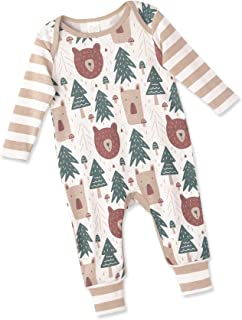 Clothes Romper with Forest & Animals Print for Newborns & Baby Boys & Girls