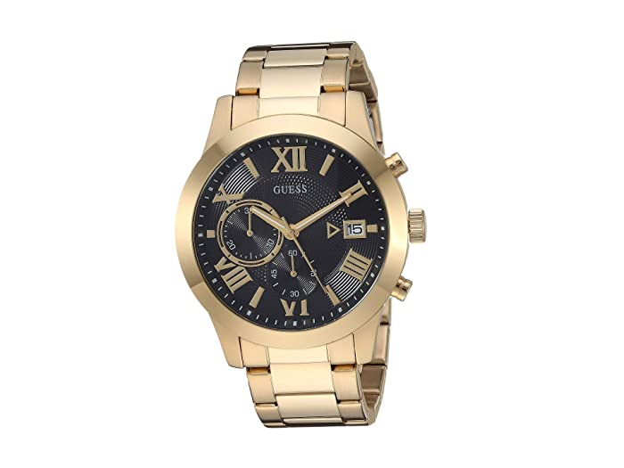 GUESS  U0668G8 (Gold-Tone/Black) Watches